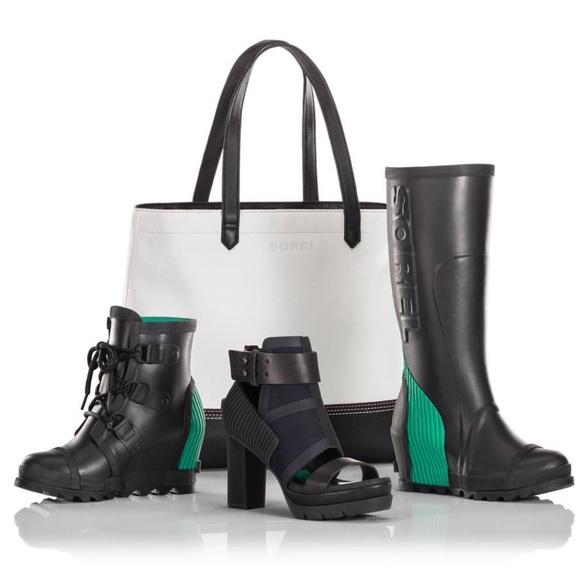 ce088f0bb262 Sorel joan rain wedge tall boots